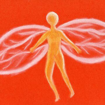 Yellow fairy by HeleneKrog