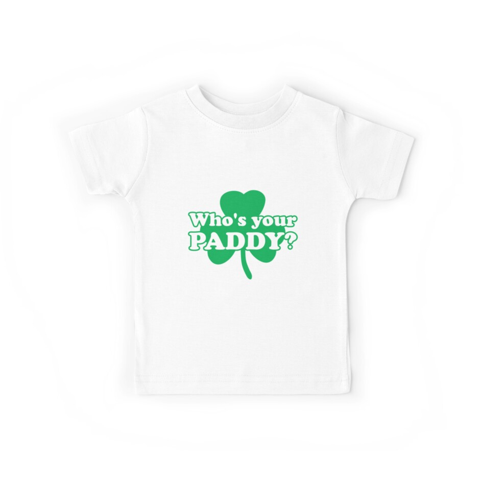 ca5b49177 St. Patrick's day: Who's your paddy