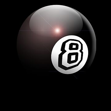 Eight Ball, Pool, Game, Sport, 8 Ball, Eight ball, The Hustler by TOMSREDBUBBLE