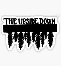 The Upside Down-Stranger Things Sticker