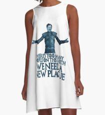 A NEW PLAGUE - Dwight walker A-Line Dress