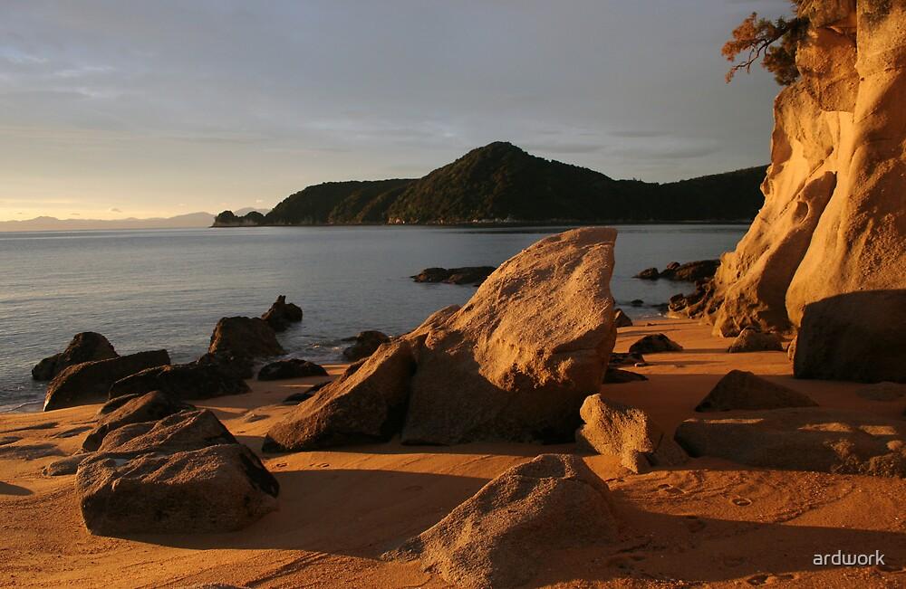 Abel Tasman Sunrise by ardwork