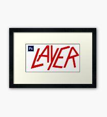 Photoshop LAYER Framed Print