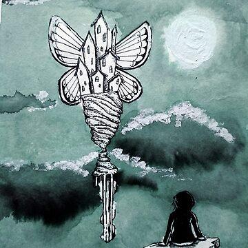 Lost Butterfly City by fernigan