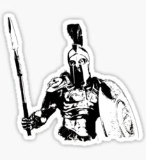 Spartan Warrior - Battleborn Sticker