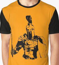 Spartan Warrior - Battleborn Graphic T-Shirt