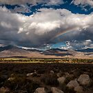 Rainbows over Big Pine by Cat Connor