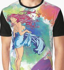 Anime Girl Dancer Graphic T-Shirt