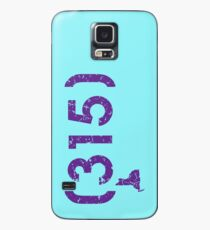 Area Code 315 New York Case/Skin for Samsung Galaxy