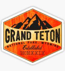 GRAND TETON NATIONAL PARK WYOMING MOUNTAINS TETONS 12 Sticker