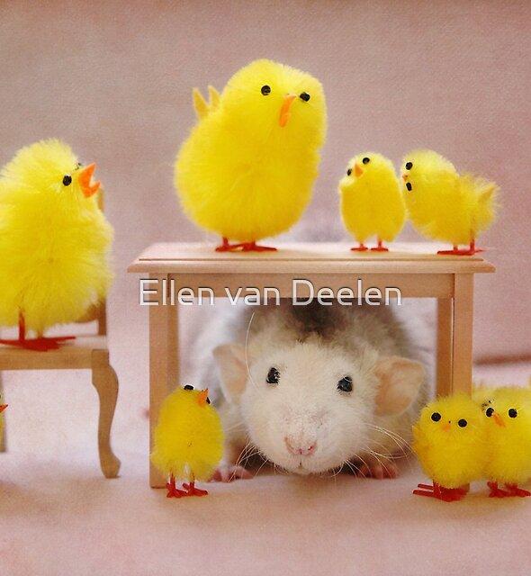 Rosie celebrates Easter :) by Ellen van Deelen