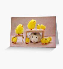 Rosie celebrates Easter :) Greeting Card