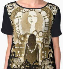 The Future Will Be A Wondrous Place Chiffon Top
