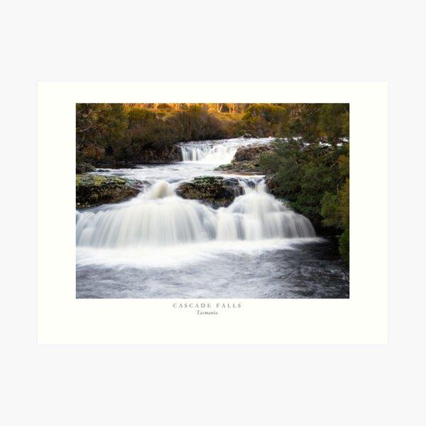 Cascade Falls Tasmania Art Print