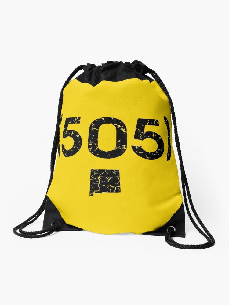 Area Code 505 New Mexico | Drawstring Bag