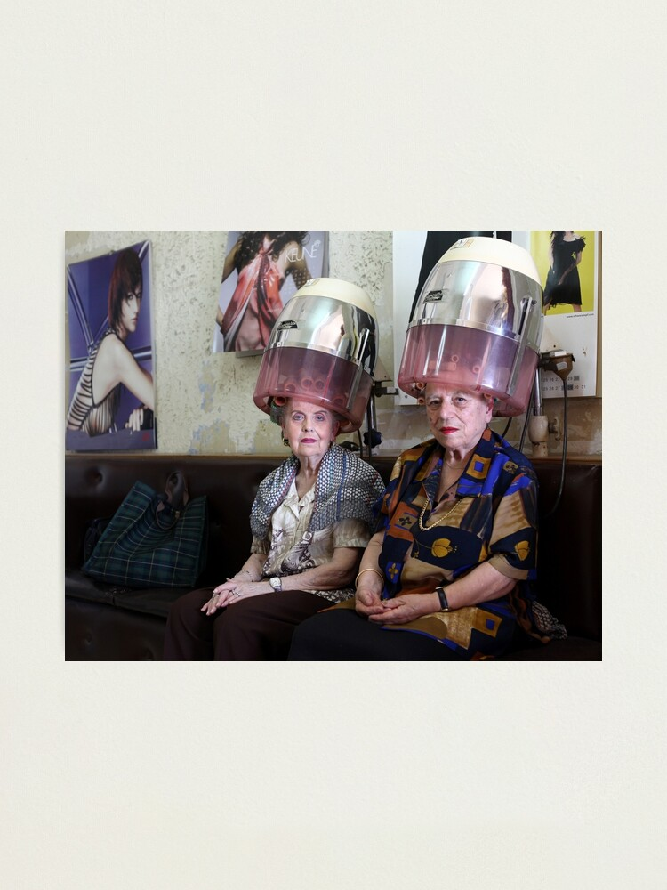 Alternate view of At the Hairdresser's Photographic Print