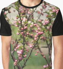 Pink popcorn bush Graphic T-Shirt