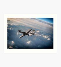 Hurricane Squadron Art Print