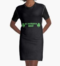 St. Patrick's day T-Shirt Kleid