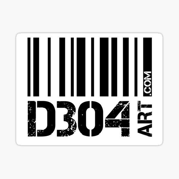 D304 Art.com Sticker