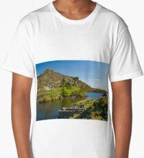 Cregennen Lakes 2 A Welsh Landscape  Long T-Shirt