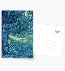Moonlit Sea Postcards