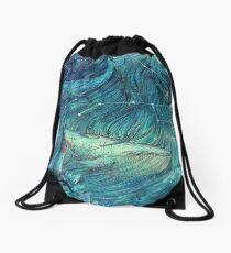 Moonlit Sea Drawstring Bag