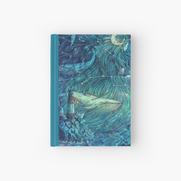 Moonlit Sea Hardcover Journal