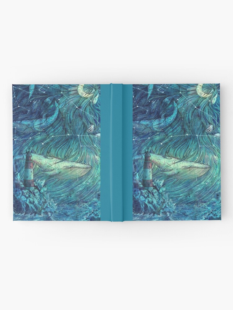 Alternate view of Moonlit Sea Hardcover Journal
