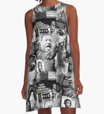 martin luther king jr A-Line Dress
