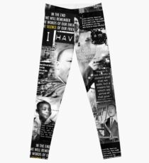 martin luther king jr Leggings