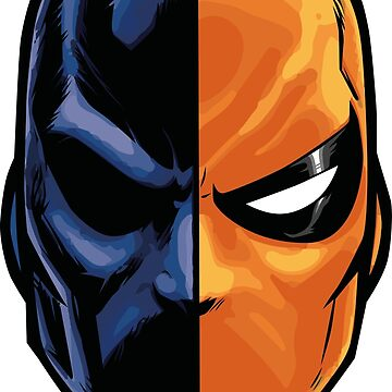 deathstroke - mask (more detail) by craneone