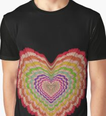 Fetish Heart Graphic T-Shirt