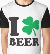 St. Patrick's day: I love Beer Graphic T-Shirt