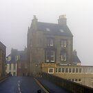 Foggy Street by Tom Gomez