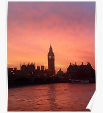 Big Ben - London, United Kingdom Poster