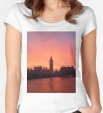 Big Ben - London, United Kingdom Women's Fitted Scoop T-Shirt