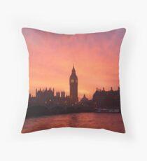 Big Ben - London, United Kingdom Throw Pillow