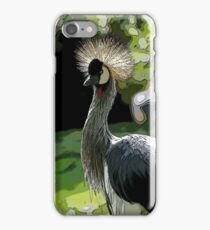 Crane, Exotic Wild Bird iPhone Case/Skin