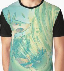 Leaf Tornado Graphic T-Shirt