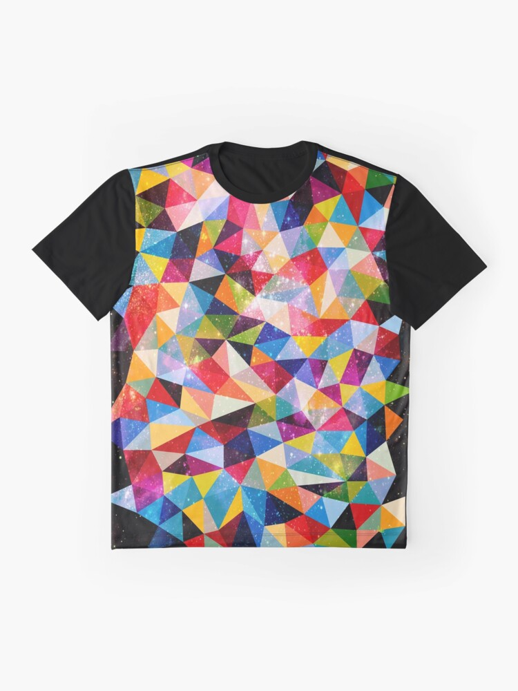 Alternate view of Space Shapes Graphic T-Shirt