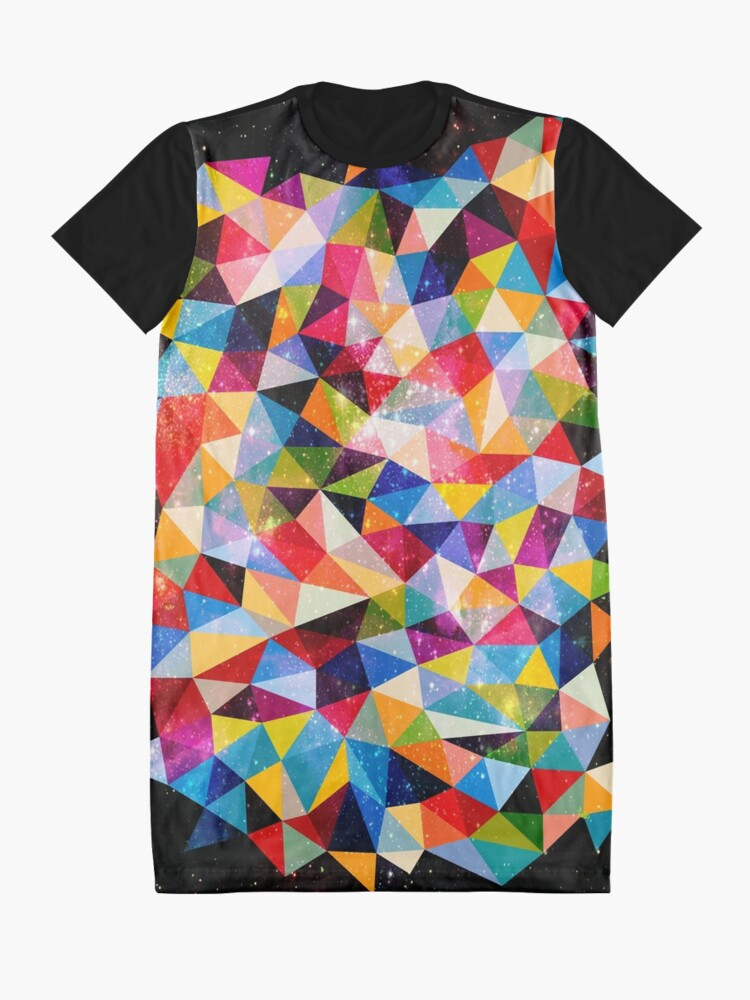 Alternate view of Space Shapes Graphic T-Shirt Dress