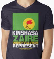 Kinshasa, Zaire, represent Men's V-Neck T-Shirt