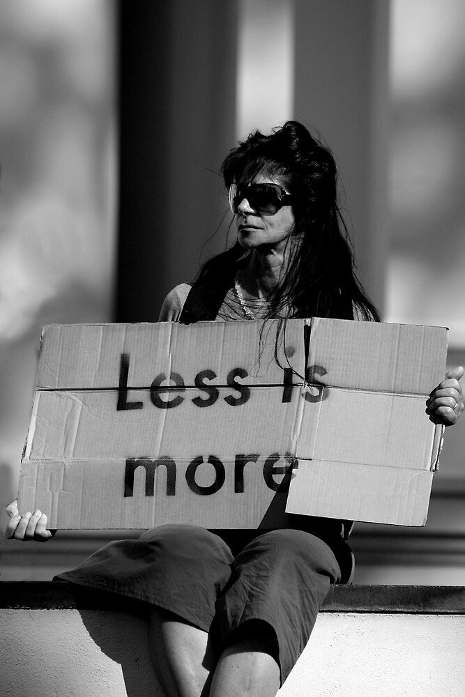 Less is More by John Robb