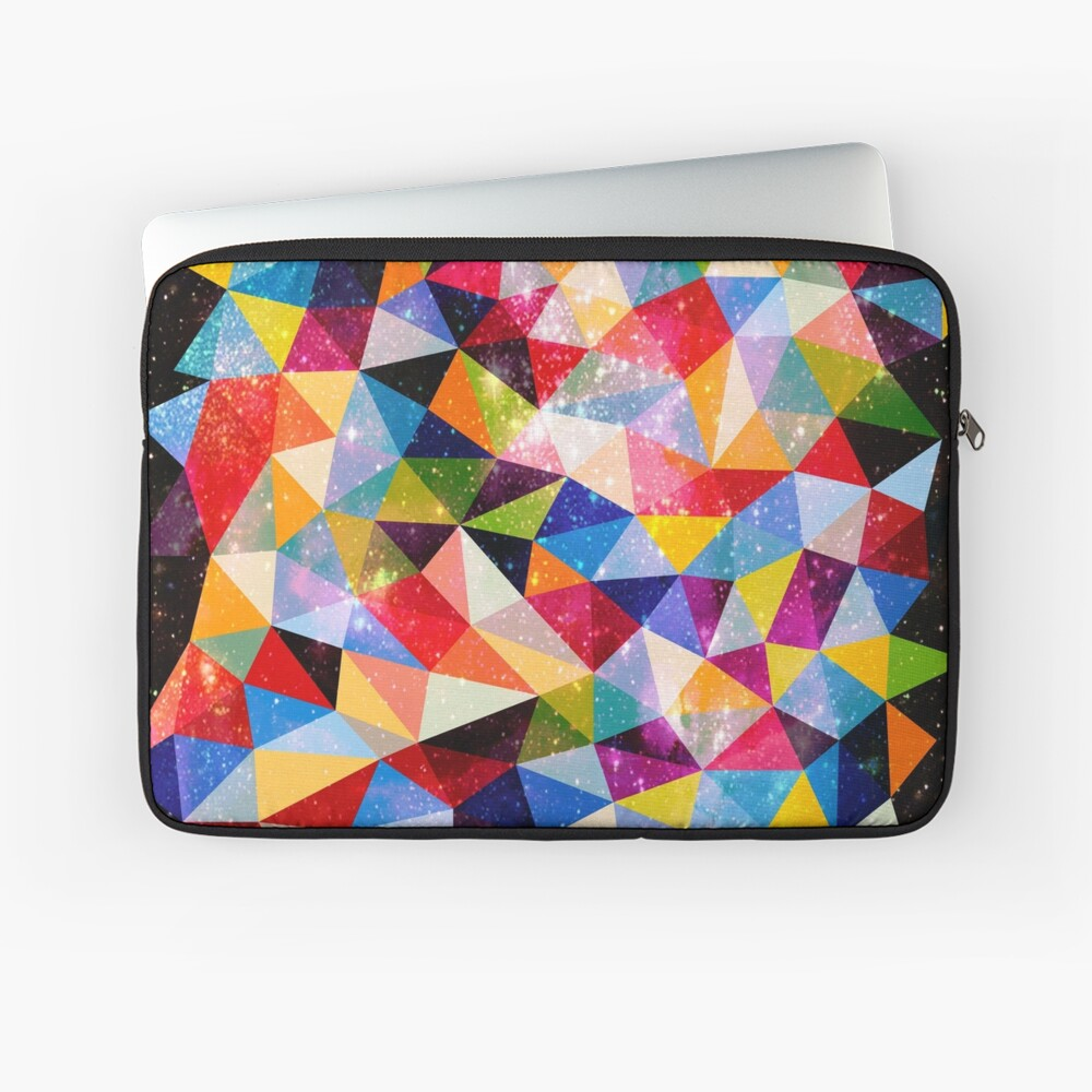 Space Shapes Laptop Sleeve