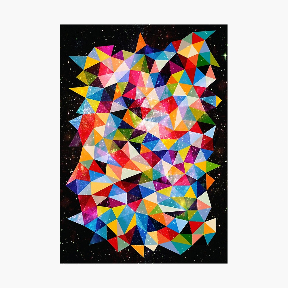 Space Shapes Photographic Print