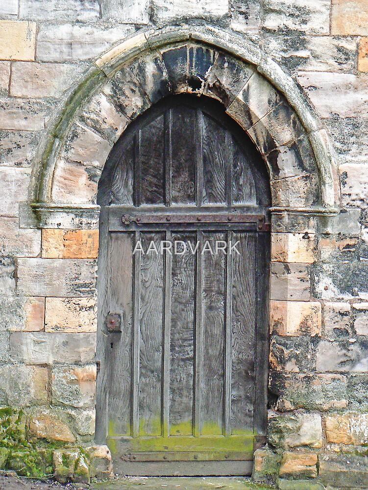 A Doorway To St. Leonard's Hospice In York's Library Gardens by AARDVARK