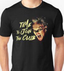 Das verlorene Jungen-T-Shirt - Zeit, dem Verein beizutreten Slim Fit T-Shirt