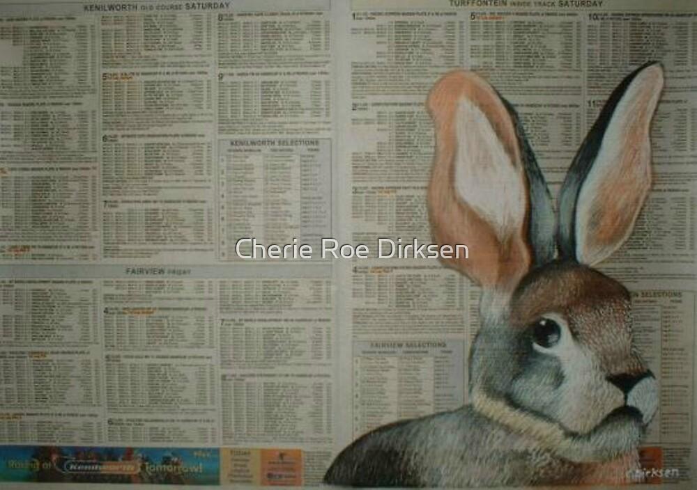 The Riverine Rabbit - Endangered Species Project by Cherie Roe Dirksen