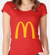 Mcdonalds Women's Fitted Scoop T-Shirt